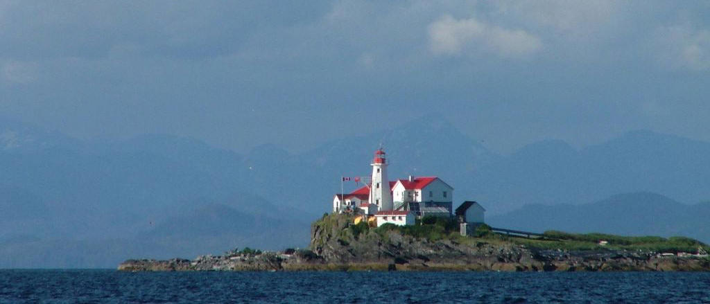 Lighthouse on Central BC coast