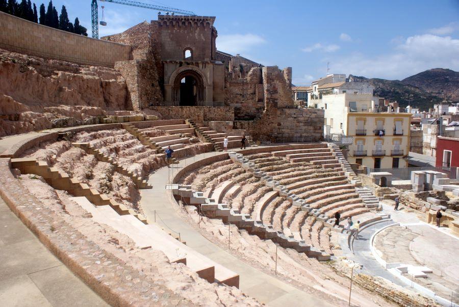 Voyage Of The Solstice Photos Cartagena Spain Roman Ruins