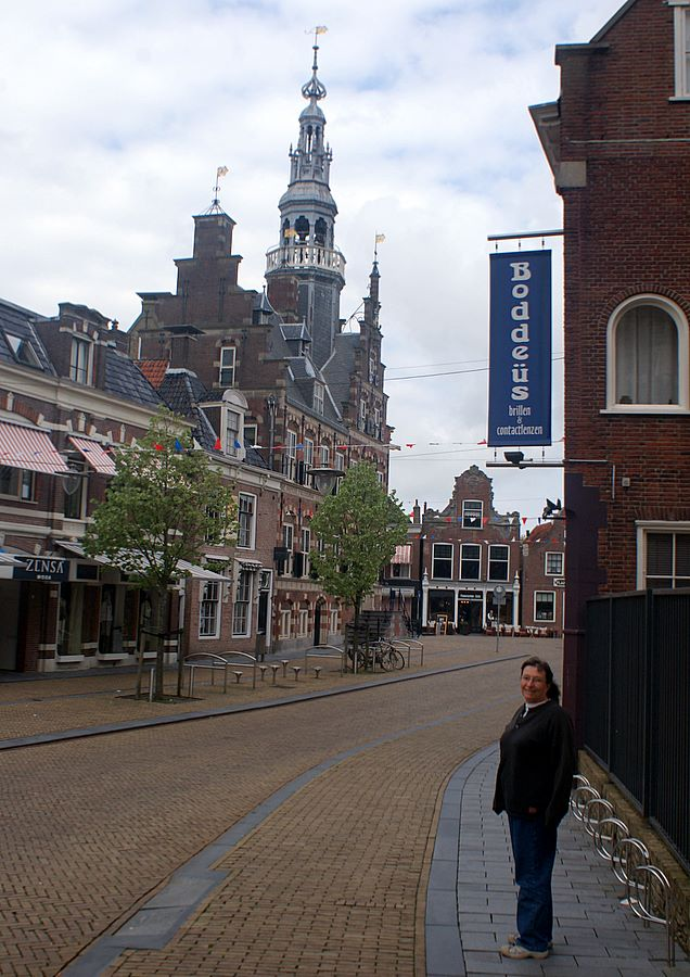 Downtown Franeker: some places change slowly