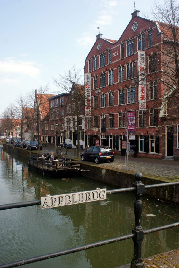Old warehouse in Hoorn converted for modern use